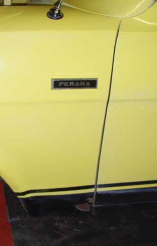 Escort Perana with Perana badge